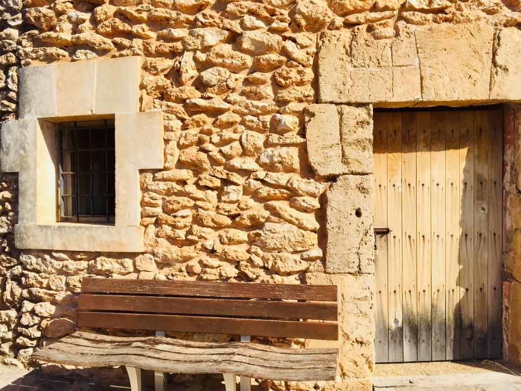 Kleiner Ausflug zur Mühle von Santa Ponsa - Impressionen des Mauerwerks