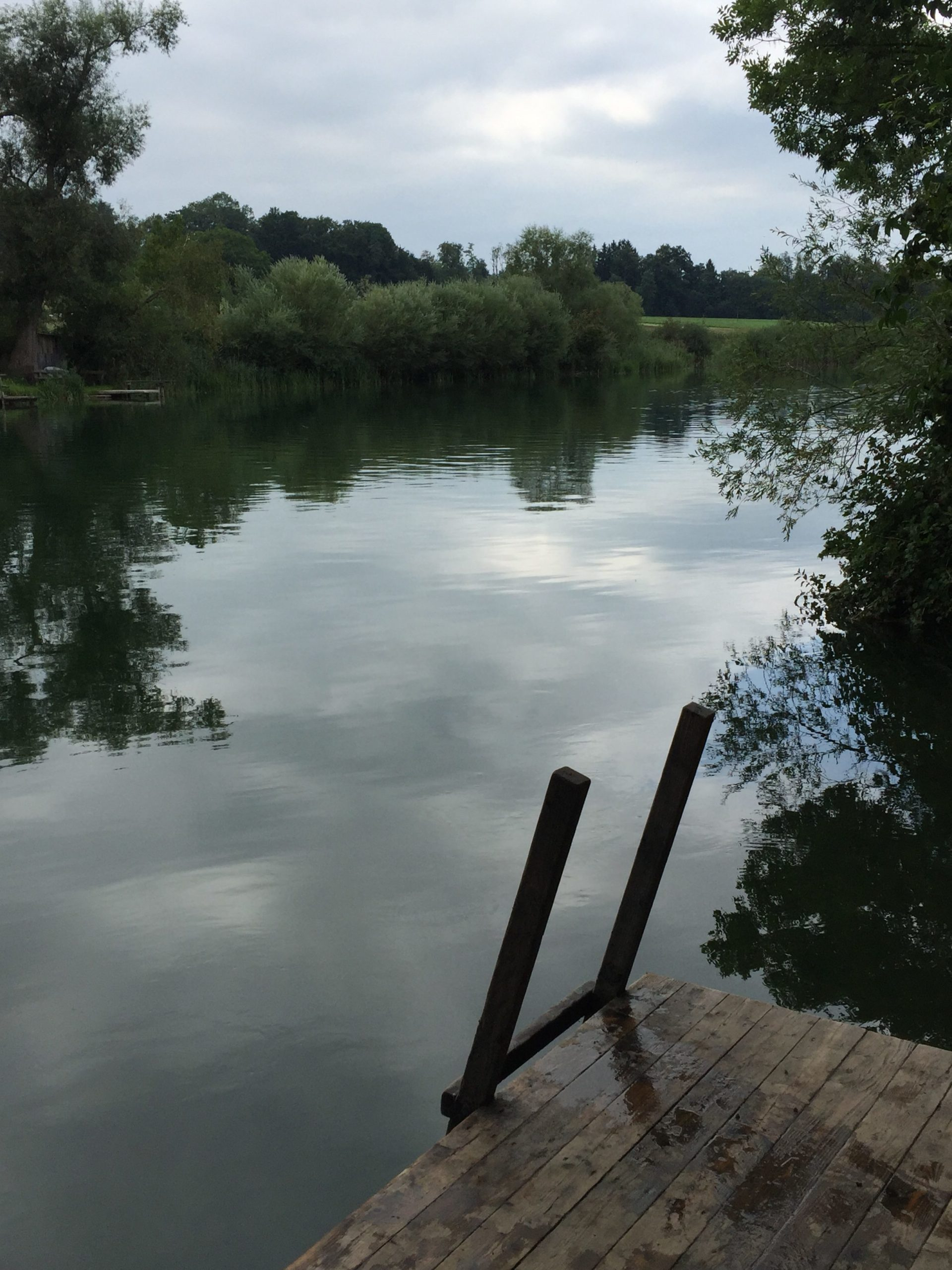 1 toller Tag mit dem Schlauchboot auf der Alz - Truchtlaching