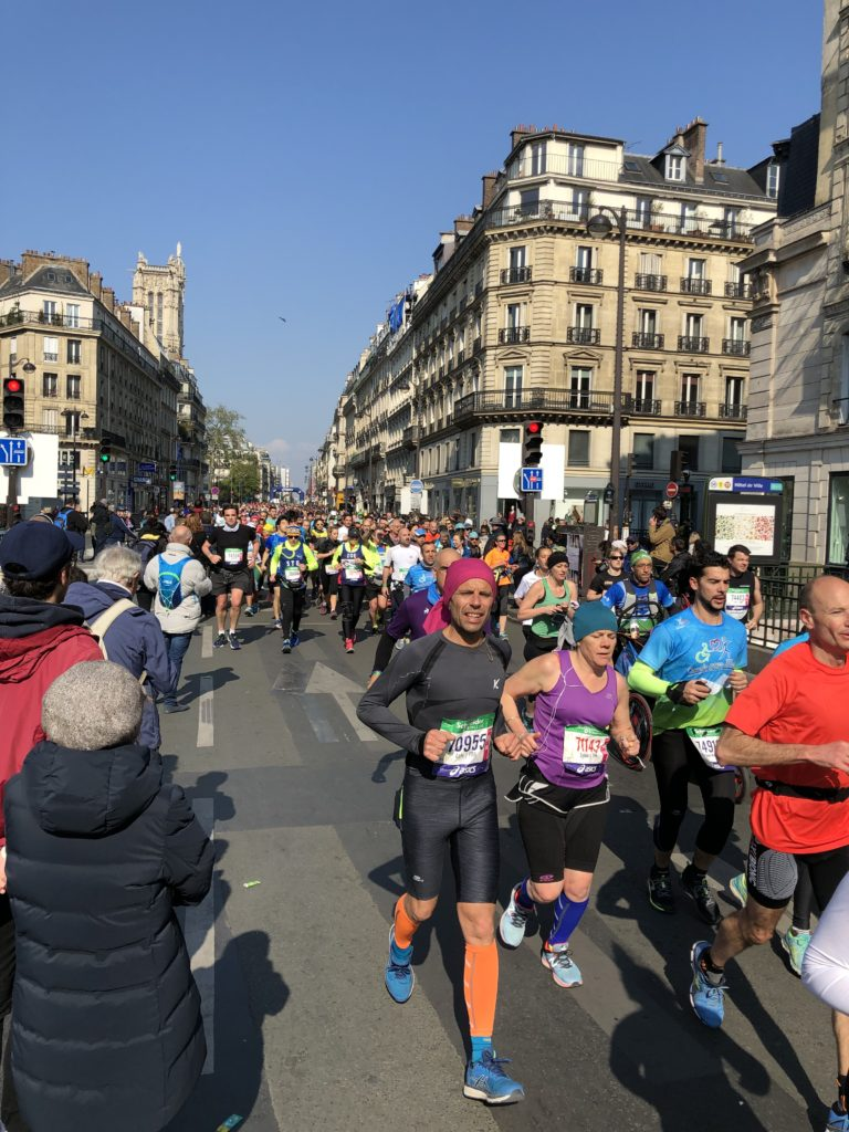 Paris Marathon Frühjahr 2019