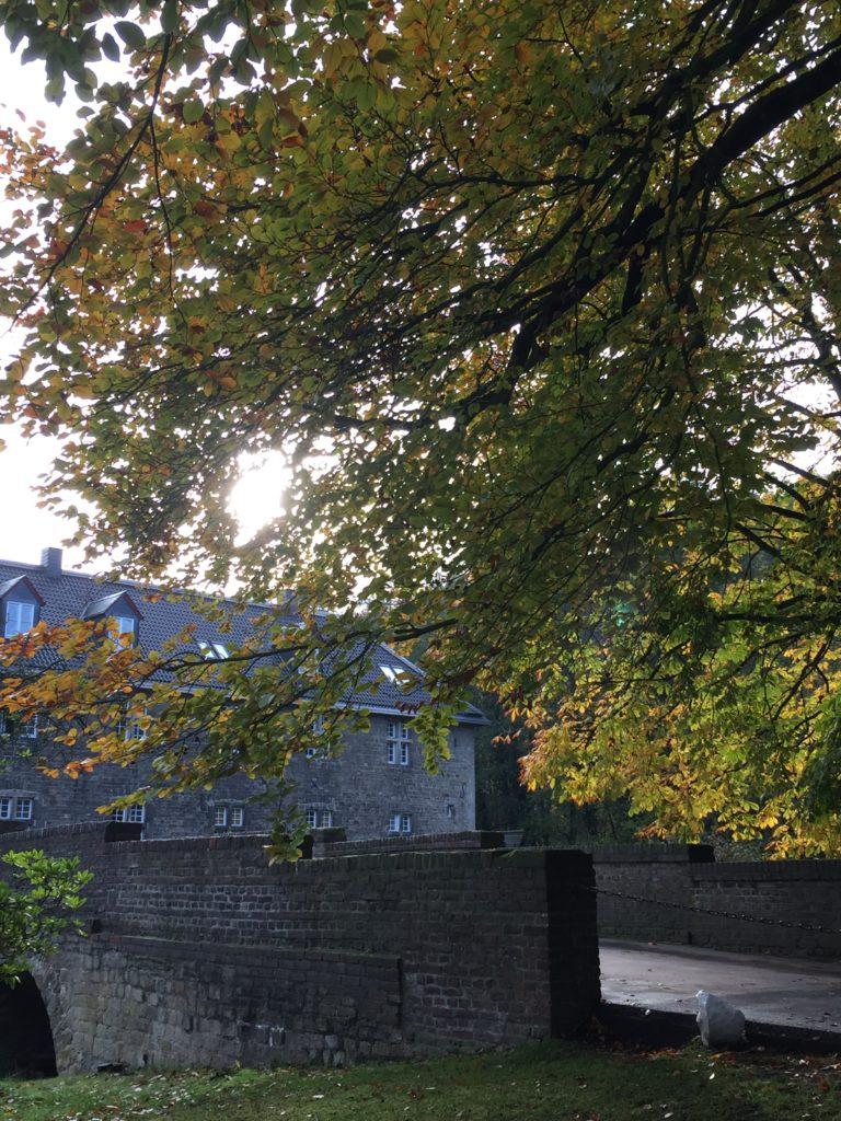 Auffahrt Schloss Hugenpoet
