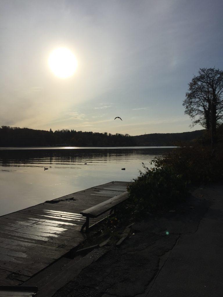 Der Baldeney See im Gegenlicht