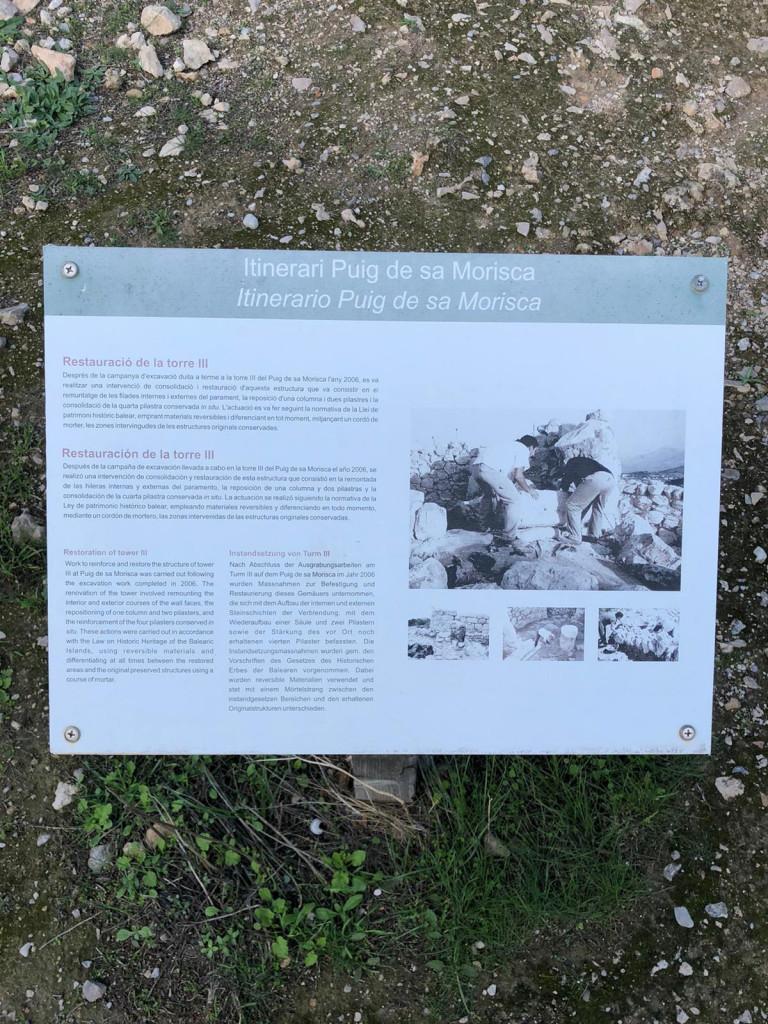 Die Geschichte Mallorcas zusammengefasst - Restauration Torre III