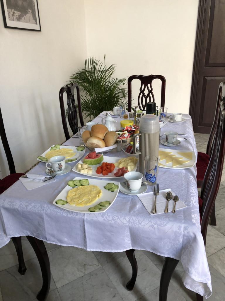 Frühstück bei Marie