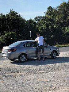 Mit dem Mietwagen durch Kuba - unser Mietwagen