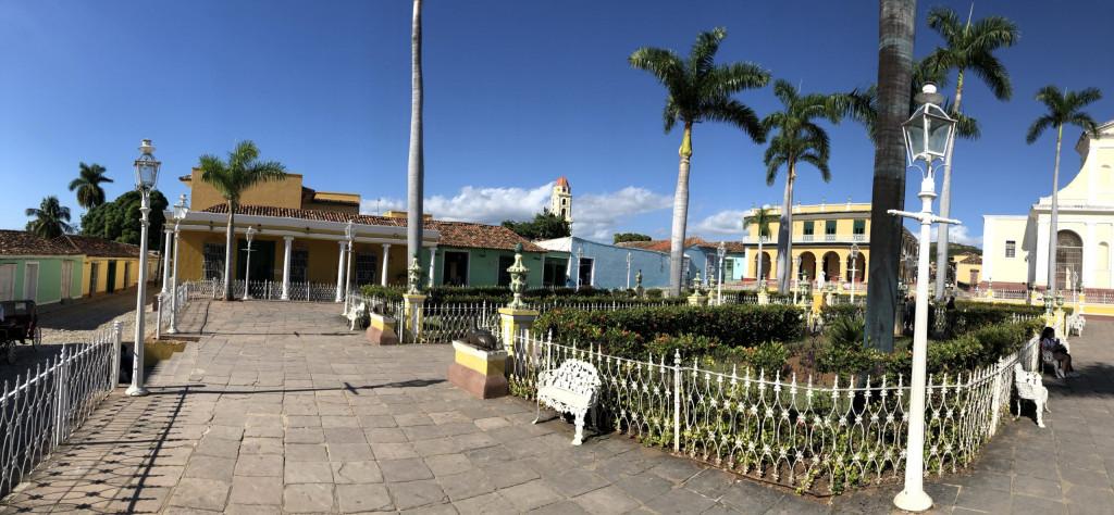 Unsere Kuba-Rundreise: Trinidad - Plaza Mayor Panorama