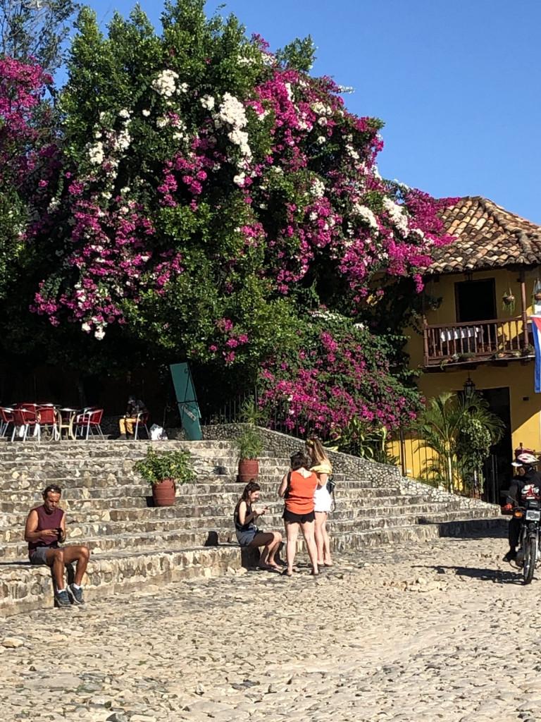 Unsere Kuba-Rundreise: Trinidad auf Kuba - Freitreppe