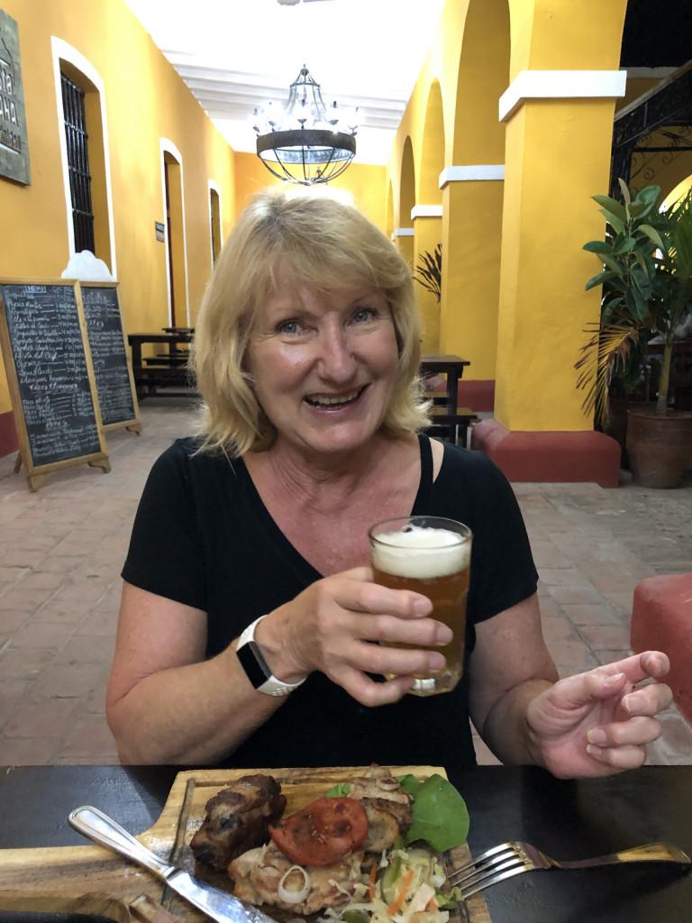KAREN ON TOUR, Brauerei Kuba