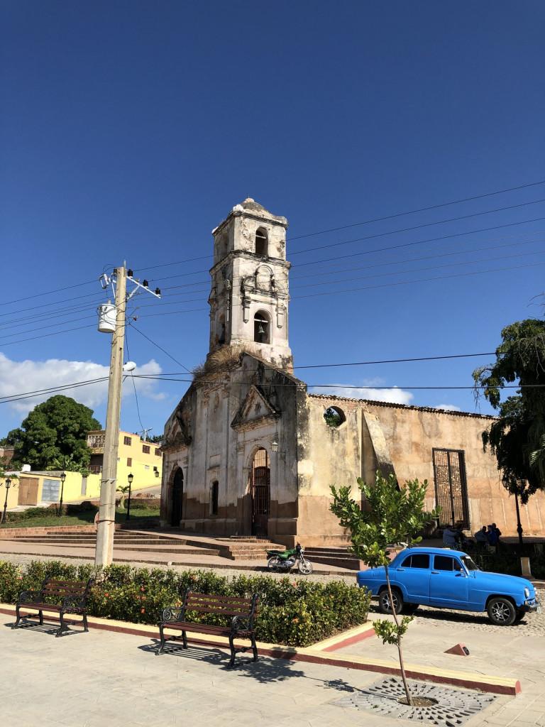 Rundreise durch Kuba Etappe 3 Trinidad auf Kuba - Kirchenruine