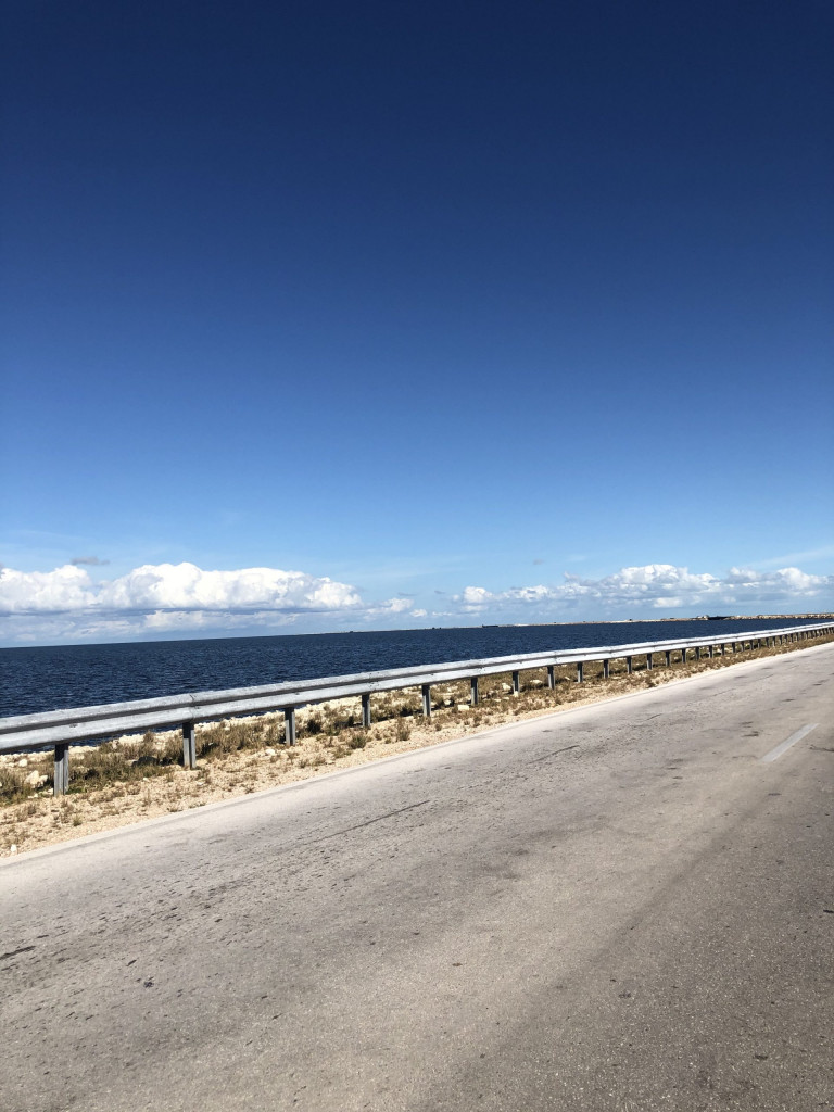 Rundreise durch Kuba Etappe 4 Strandparadies Cayo Santa Maria - Damm