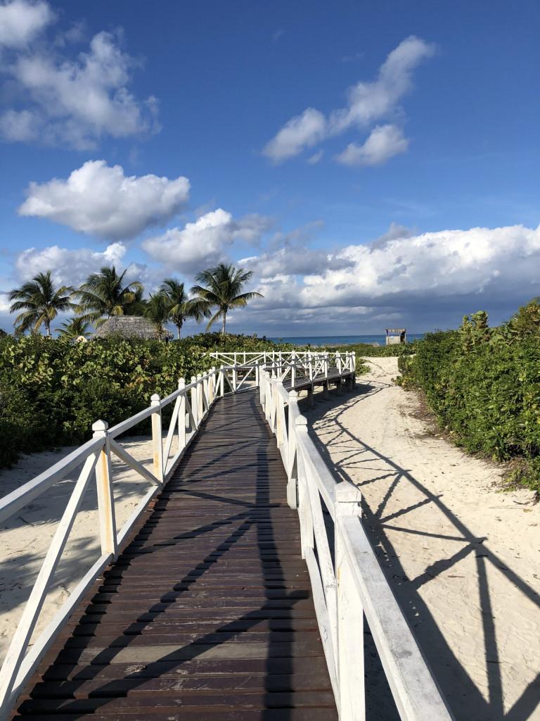 Cayo Santa Maria - Steg zum Meer