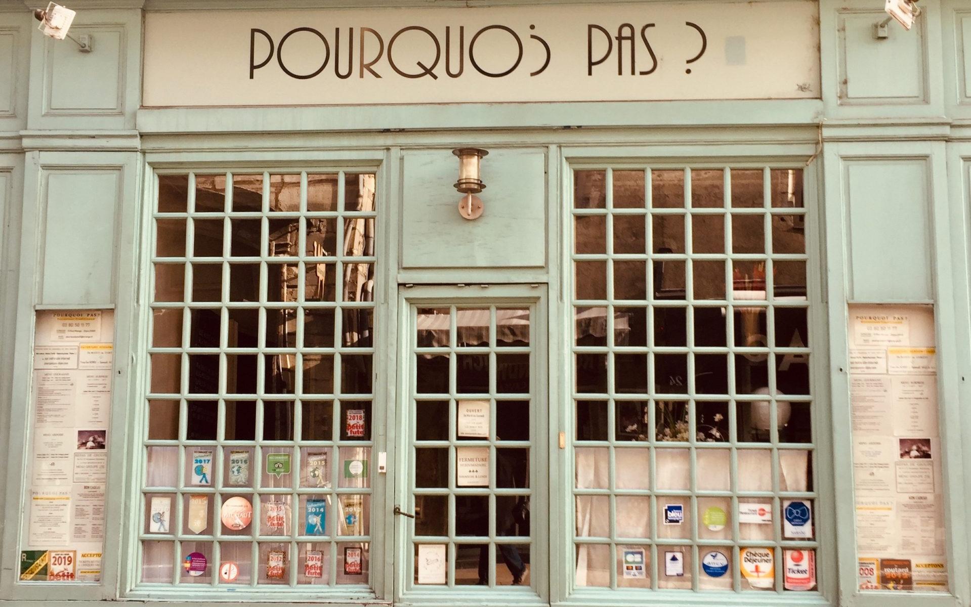 Bild der Woche - Pourquoi Pas?