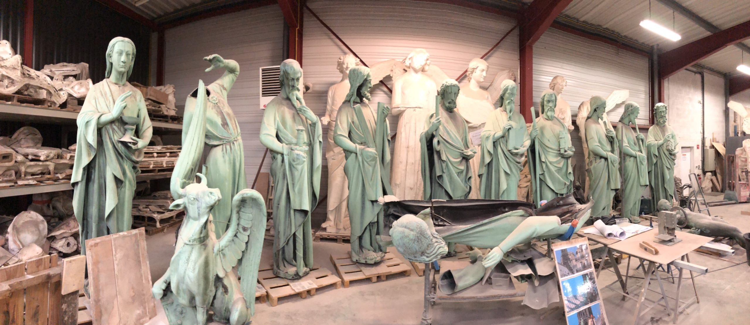 Mein Bild der Woche - Figuren Notre Dame