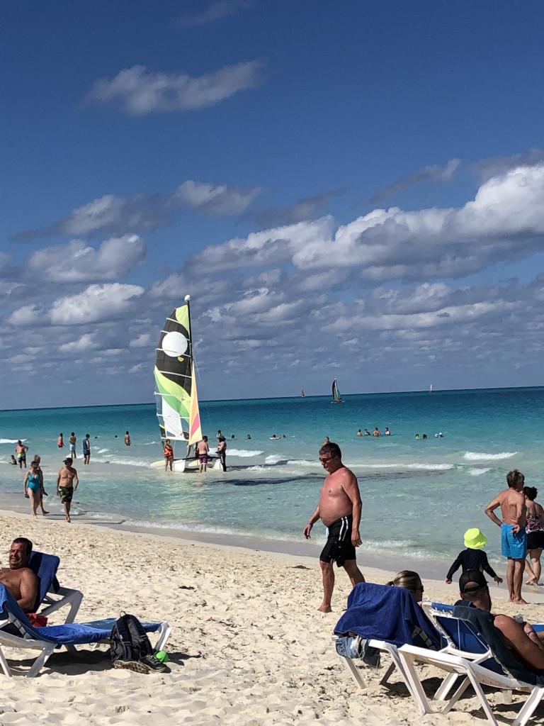 Unsere Kuba-Rundreise: Strandparadies Cayo Santa Maria - Katamaran