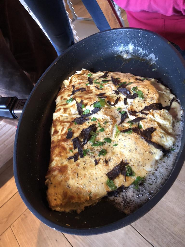 Das schwarze Gold des Perigord - Omelette mit Trüffel