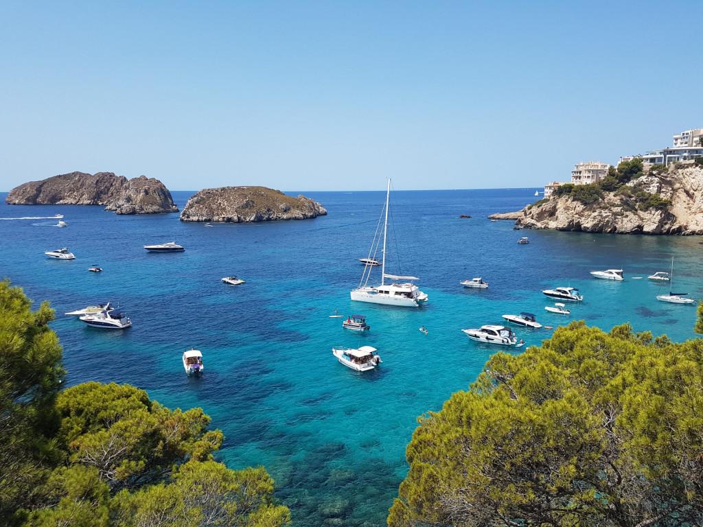 Leben als Deutsche auf Mallorca: Interview mit dem Ehepaar König - Bucht in Santa Ponsa