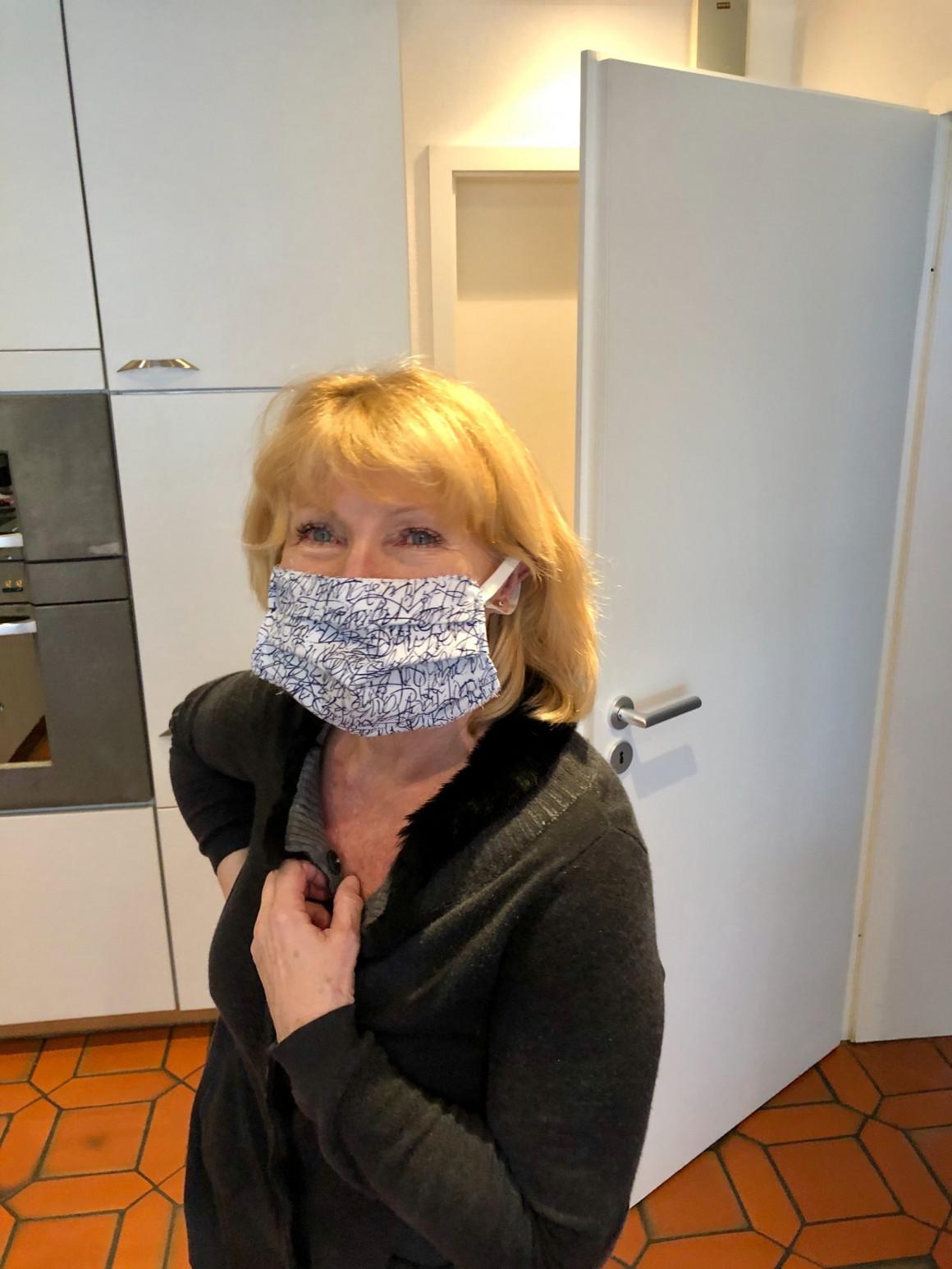 Mundschutz gegen Corona - Selbermachen