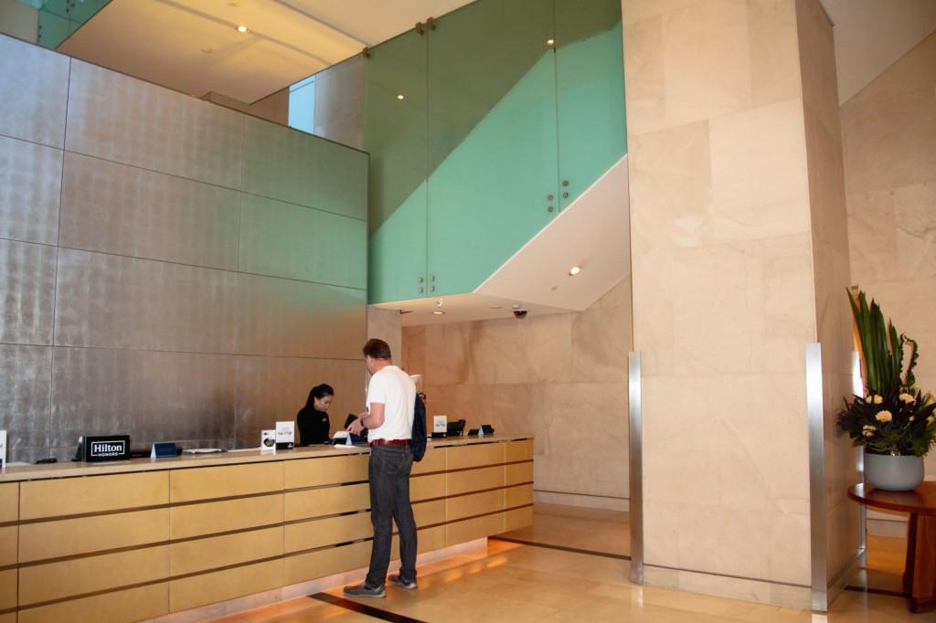 Sydney in 7 Tagen - Check In im Hilton