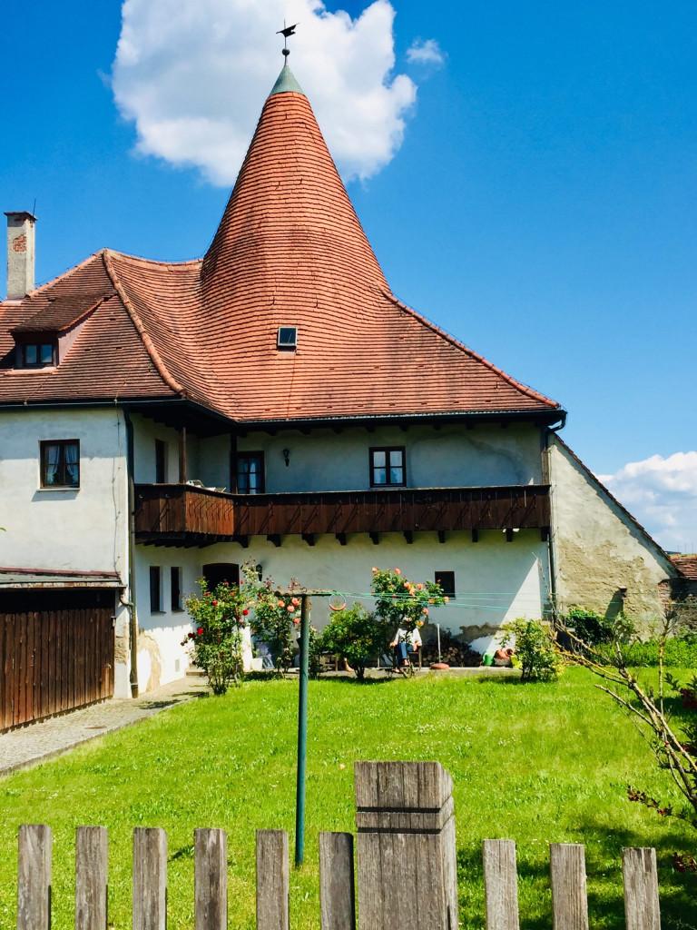 Ausflug nach Burghausen - Wohnen in der Burg