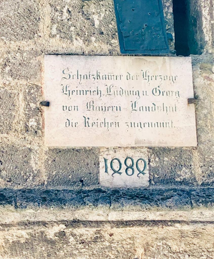 Ausflug nach Burghausen - die Burg
