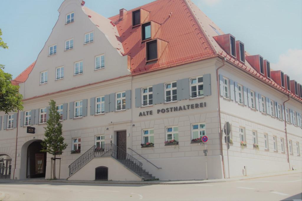 Die Alte Posthalterei in Zusmarshausen