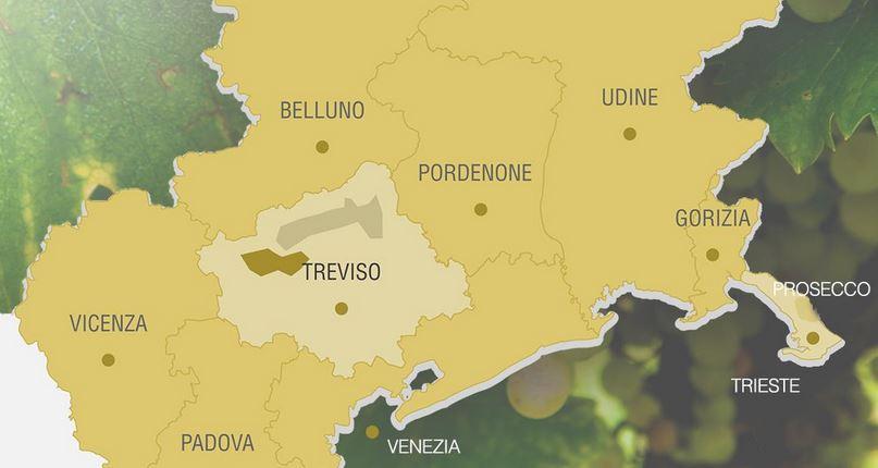 Prosecco DOC italienisch genial - Karte Prosecco