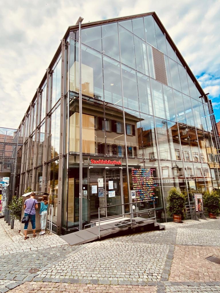 1 Tag in Schwäbisch Hall - das Glashaus: Stadtbibliothek