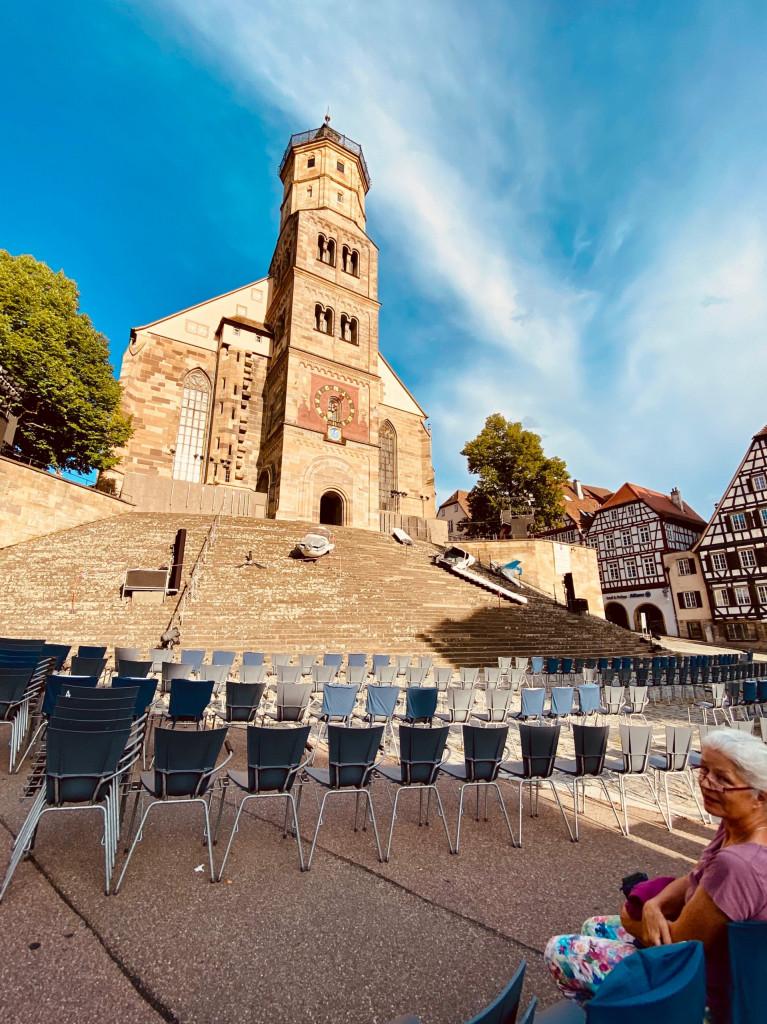 1 Tag in Schwäbisch Hall - Marktplatz mit großer Treppe