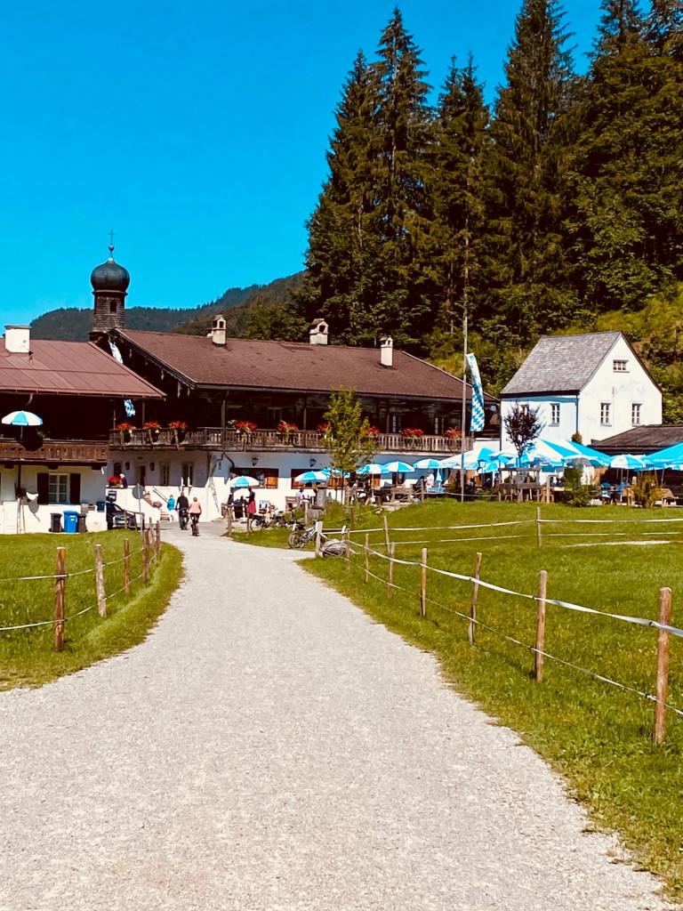 Wildbad Kreuth und die wilde Wolfsschlucht - Gasthof Altes Bad