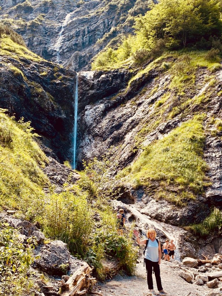 Wildbad Kreuth und die wilde Wolfsschlucht - Wasserfall in der Kleinen Wolfsschlucht
