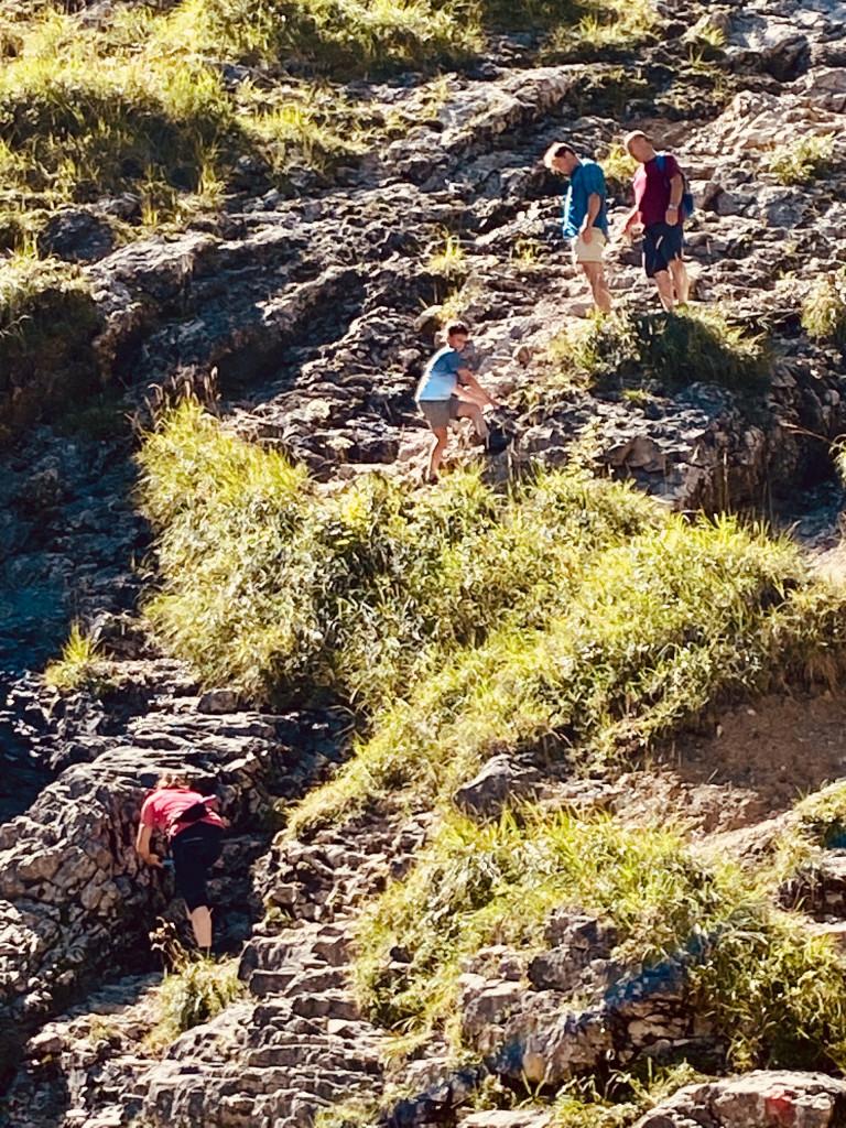 Wildbad Kreuth und die wilde Wolfsschlucht - weiter nur für geübte Kletterer