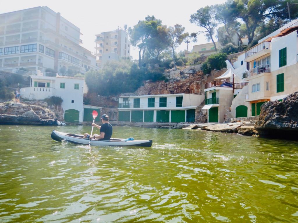 Perfektes Paddeln - Cala Santanyí