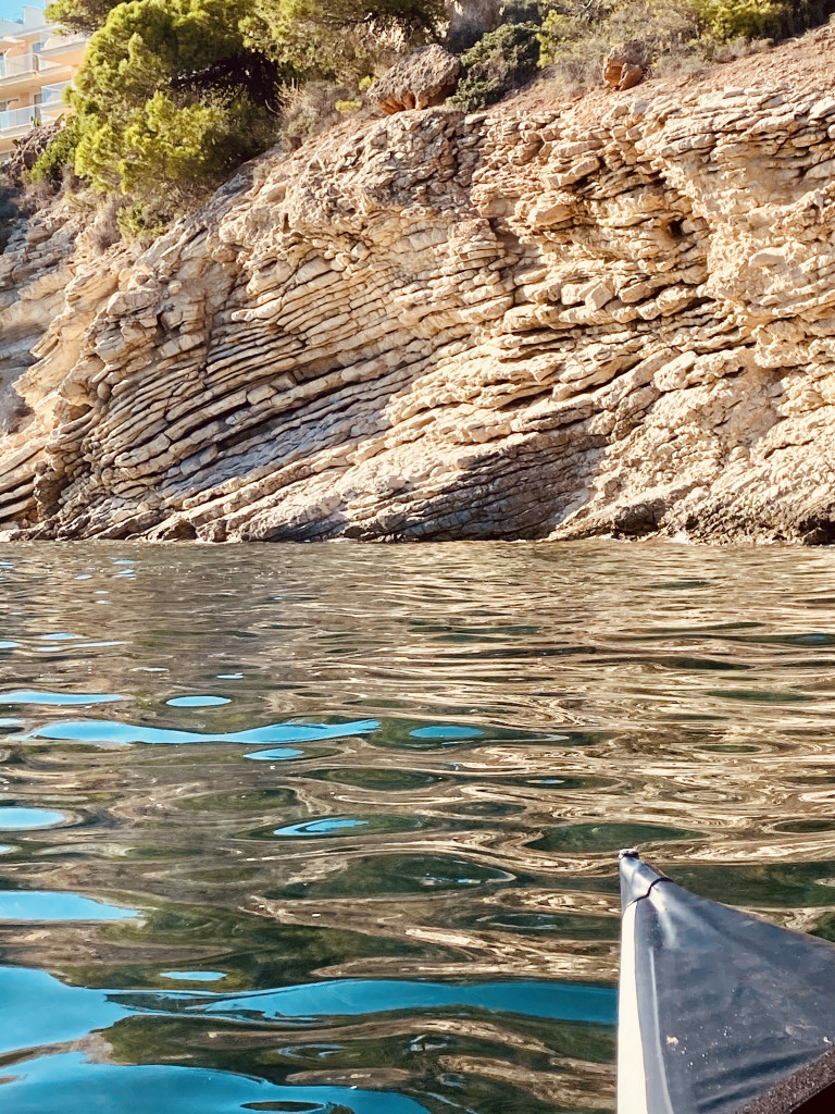 Mallorca Urlaub in Corona Zeiten - Paddeln vor der Küste