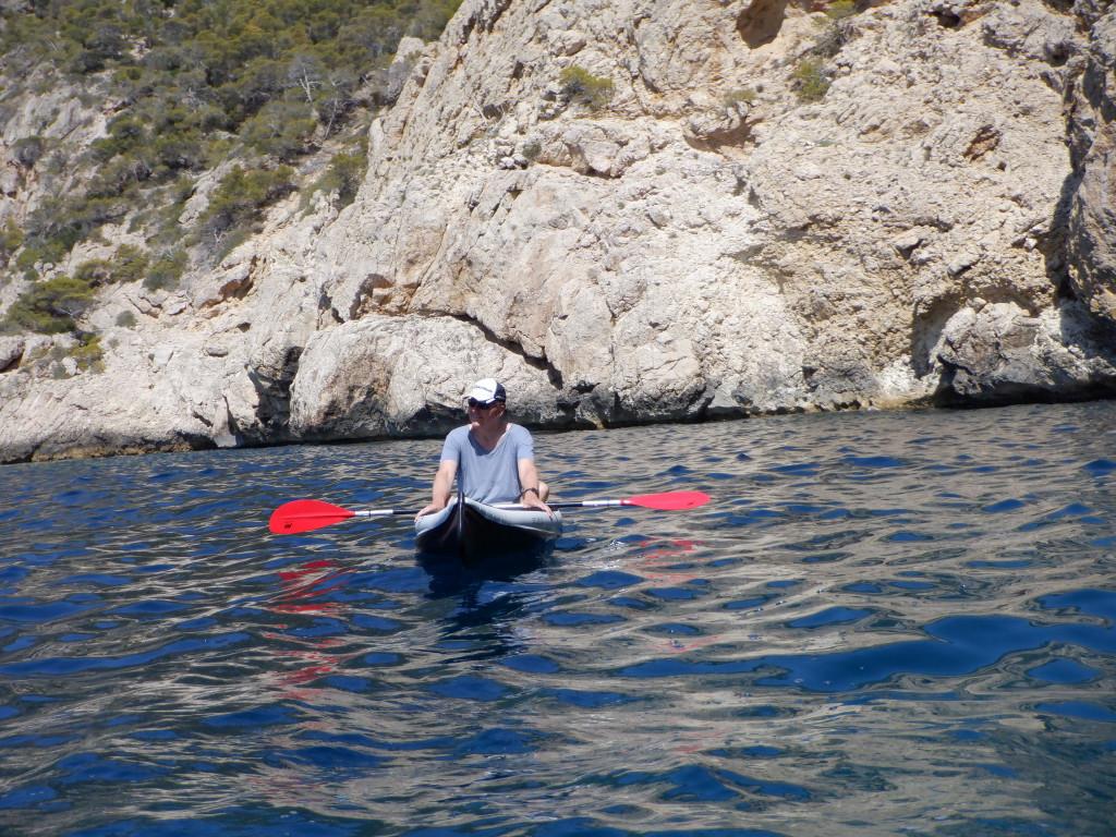 Kajak fahren an Mallorcas Küste - aktiv und relaxed