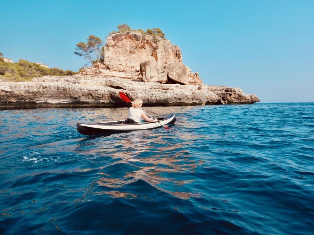 Perfektes Paddeln - sooo schön vor Mallorca