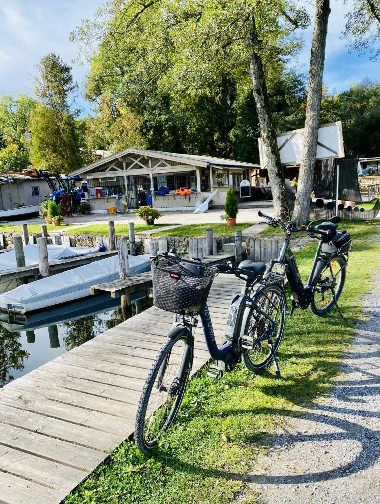 Fernweh 2021 - mit den E-Bikes am Chiemsee