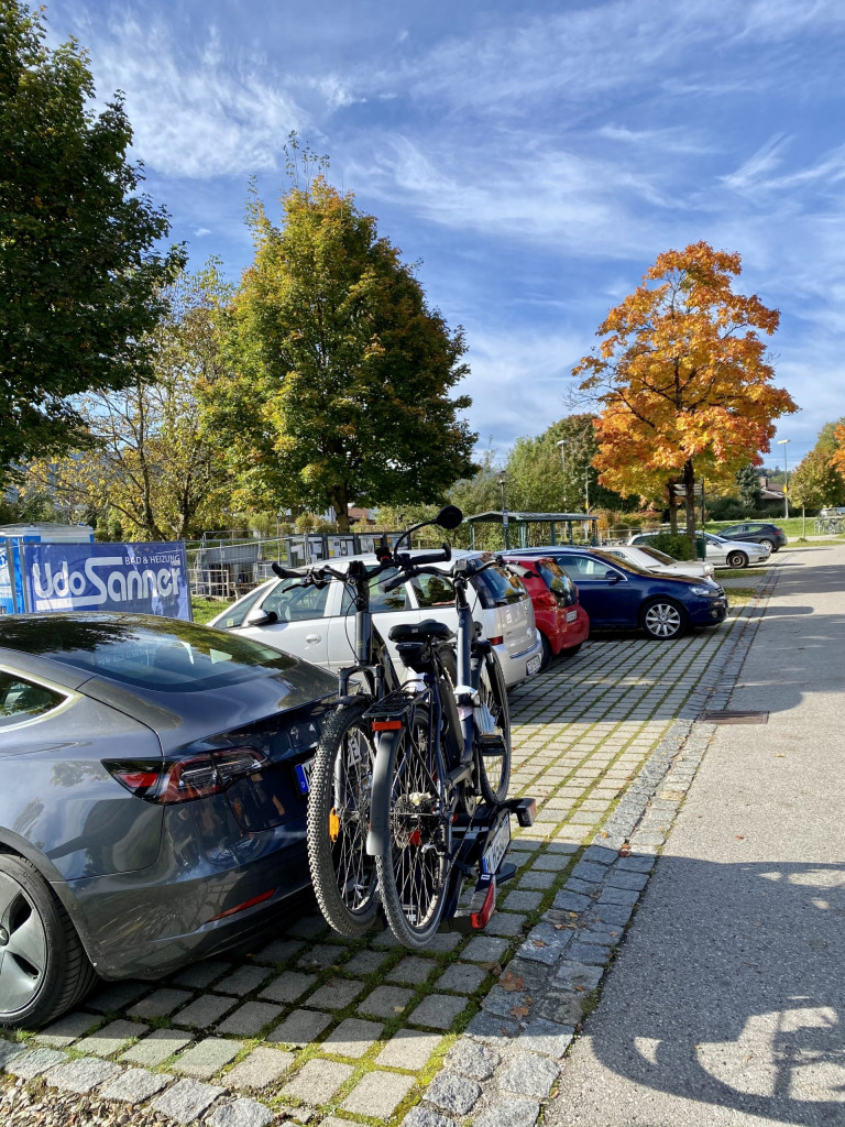 1 mal um den Chiemsee - Parken in Bernau/Felden