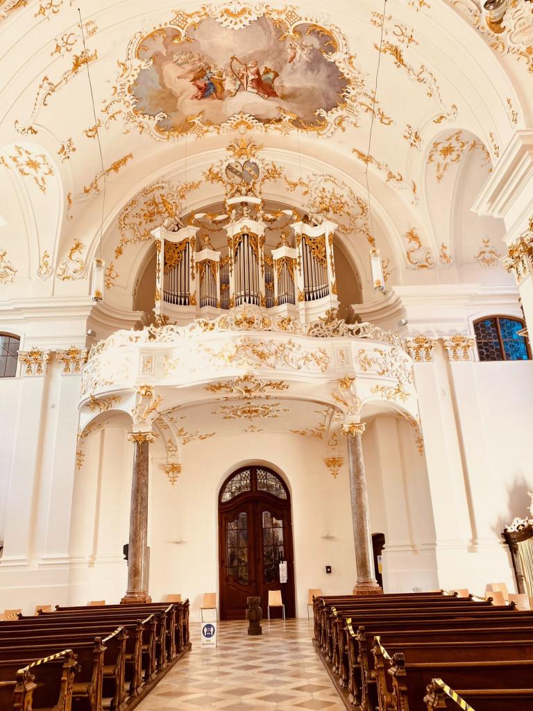 Kostbarkeiten am Isarkanal: vom Kloster Schäftlarn zum Ickinger Wehr - die Orgel