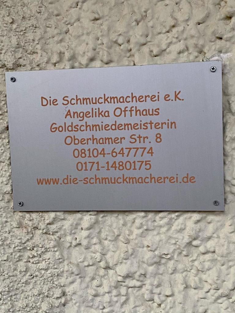 Angelika Offhaus, Schmuckmacherei