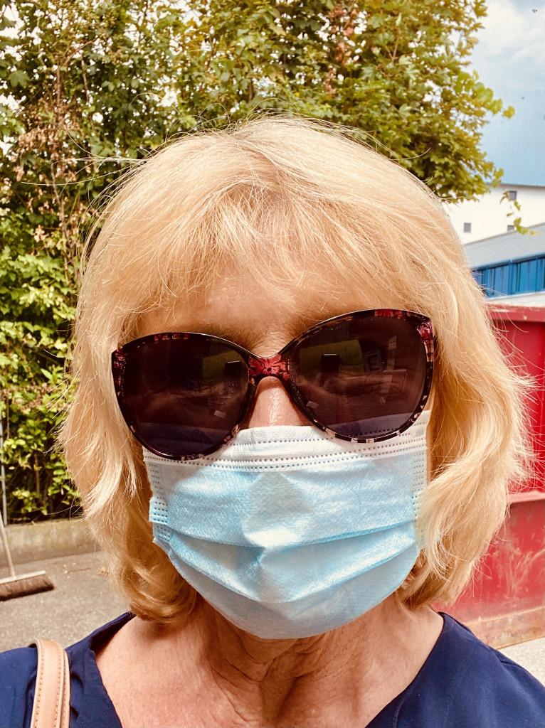 FFP-2-Masken sind besser als solche aus Stoff - so erkennt mich niemand