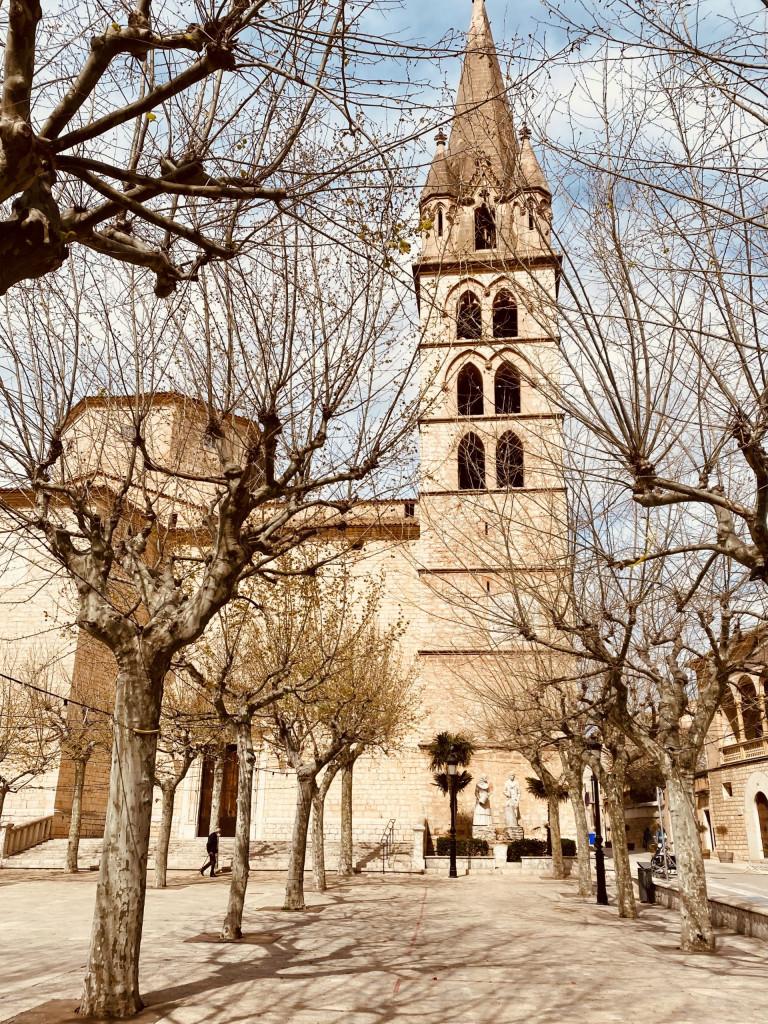 Die Kirche von Binissalem