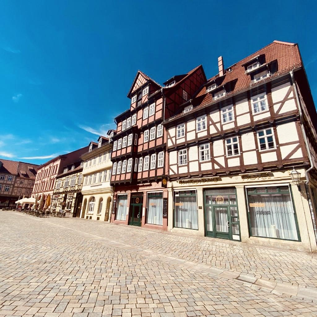 In den Harz - einzigartige Fachwerkhäuser in Quedlinburg