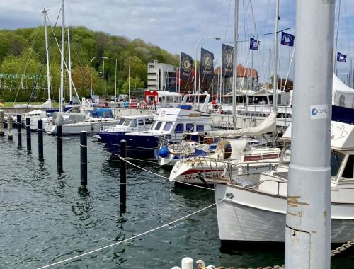 Wiedersehen mit Kiel - steife Brise, maritimes Flair und Fischbrötchen