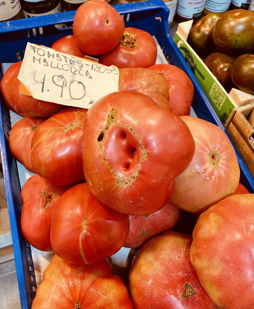 Tomatenparadies Mallorca - Tomate Rosa