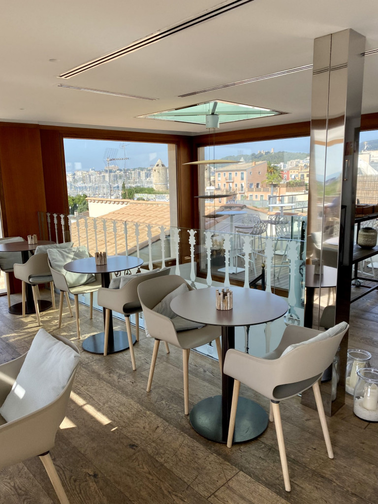 Meine Top1 Rooftop Bar in Palma - Frühstück ganz oben 12