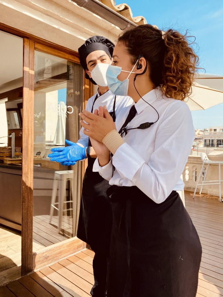 Meine Top1 Rooftop Bar in Palma - Frühstück ganz oben 6
