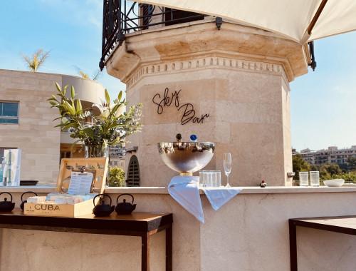 Meine Top1 Rooftop Bar in Palma - Frühstück ganz oben