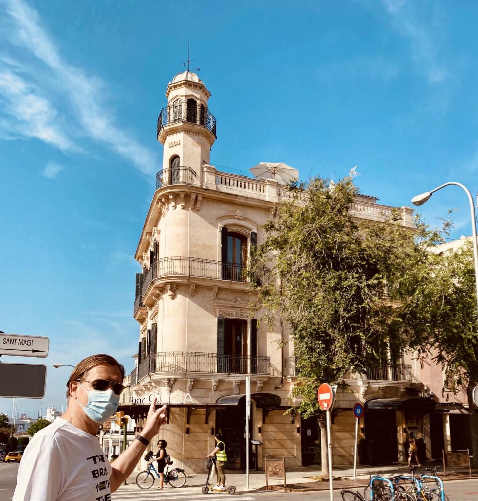 Meine Top1 Rooftop Bar in Palma - im Hostal Cuba ganz oben