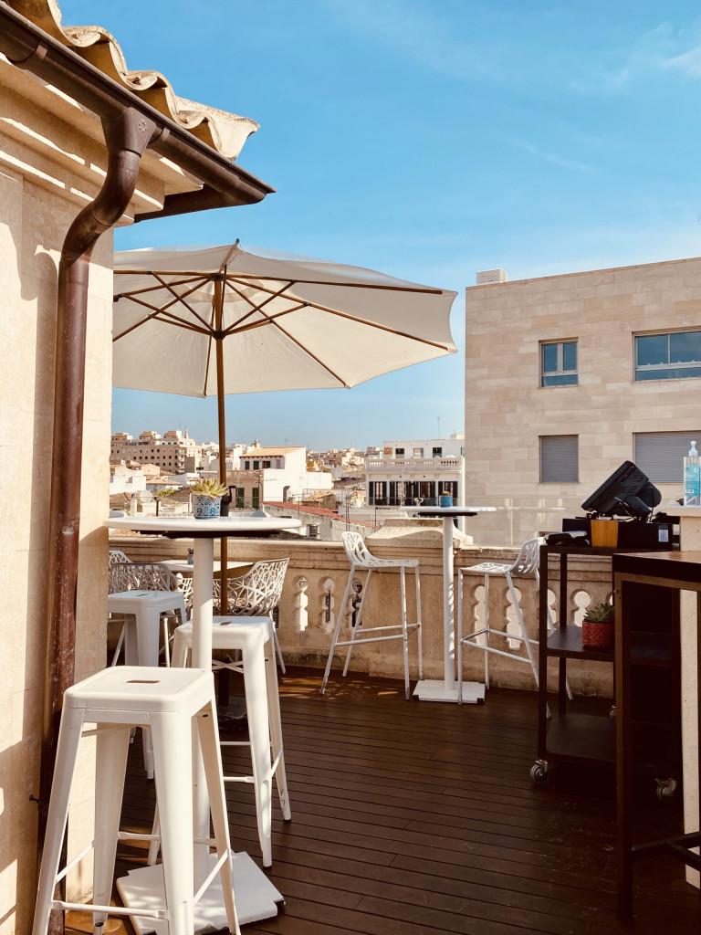 Meine Top1 Rooftop Bar in Palma - Frühstück ganz oben 2