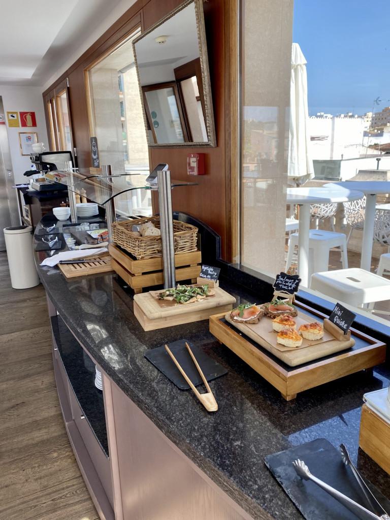 Meine Top1 Rooftop Bar in Palma - Frühstück ganz oben 3