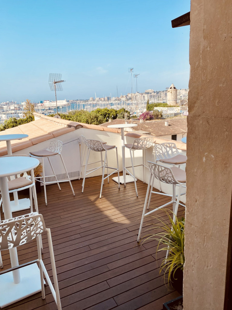 Meine Top1 Rooftop Bar in Palma - Frühstück ganz oben 9